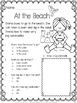 Summer Activities: Summer Reading Comprehension Worksheets for End of Year