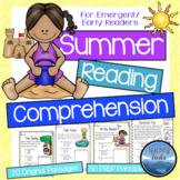 Summer Activities: Summer Reading Comprehension Worksheets