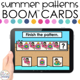 Summer AB Patterns Boom™ Cards - Distance Learning for Spe