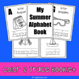 Summer ABC Color & Trace Booklet