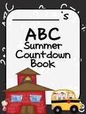Summer ABC CountDown Memory Book