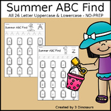 Summer ABC Letter Find