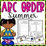 ABC Order Summer