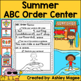 Summer ABC Order Center/Station with differentiation options