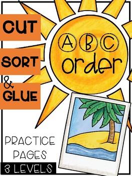 Summer ABC Order Sorts (3 Levels)