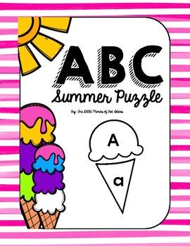 Summer ABC Puzzle