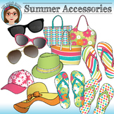 Summer Accessories Clip Art