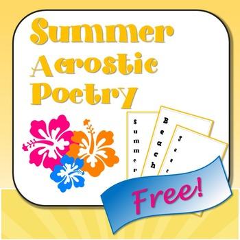 Summer Acrostic Poetry