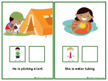 Summer Actions Interactive Book