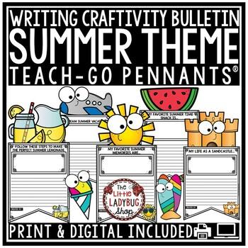 Summer Writing Activities 3rd Grade & 2nd Grade