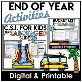 Summer | Distance Learning | Print and Digital | Bucket Li