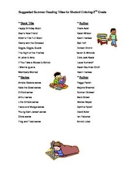 Summer Activities Grades 2-5