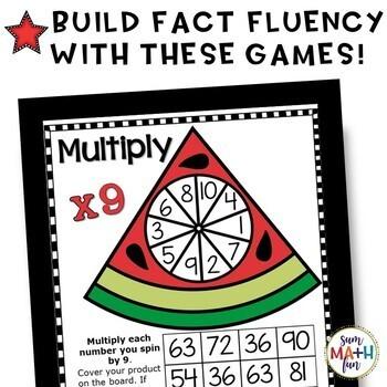 Summer Multiplication Games