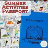 Summer Activities Passport