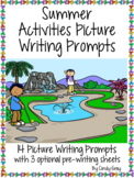 Summer Activities Picture Writing Prompts