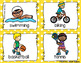 Summer Activities Write the room - 16 cards four versions, four recording sheets