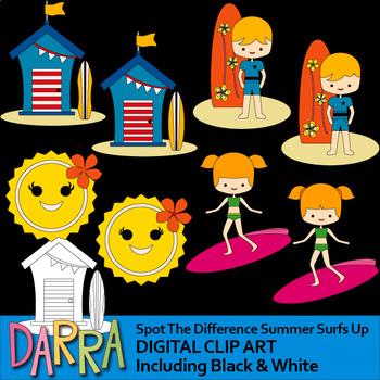 Summer Activities Clip Art