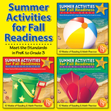 Summer Activities for Fall Readiness {Bundle}