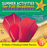 Summer Activities for Fall Readiness (Grade 1 Transitioning to Grade 2)