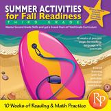 Summer Activities for Fall Readiness (Grade 2 Transitioning to Grade 3)