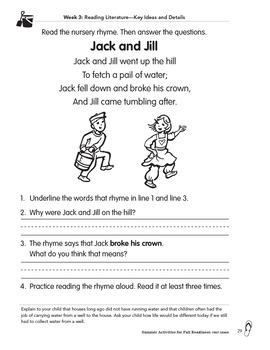 Summer Activities for Fall Readiness (Grade K Transitioning to Grade 1)