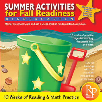 Summer Activities for Fall Readiness (Grade PreK Transitioning to Grade K)