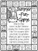 Summer Activities for Kindergarten