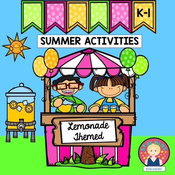 Summer Activities for Kindergarten and First Grade{Lemonade Themed}