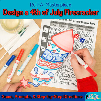 Summer Activity: 4th of July Firecracker Game, Art Sub Plans, & Writing Prompts