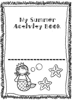Summer Themed NO PREP activity book!