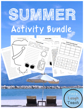 Summer Activity Bundle