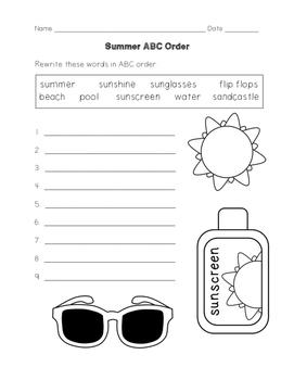 Summer Activity Bundle