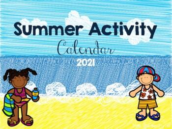 Summer Activity Calendar