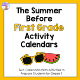 Summer Activity Calendars - First Grade
