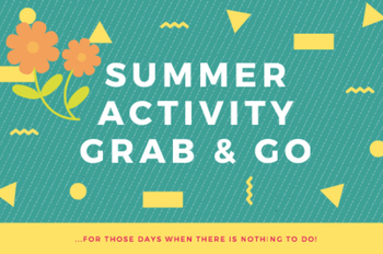 Summer Activity Grab & Go ~ For Primary Students