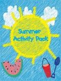 Summer Activity Pack