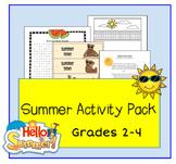 Summer Activity Pack Grades 2-4