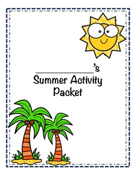 Summer Activity Packet