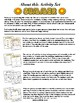 Summer Activity Set / Worksheets + Flashcards