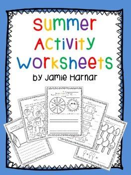 Summer Activity Worksheets
