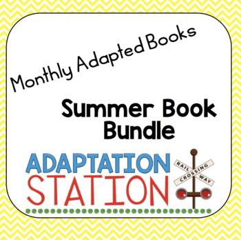 #spedchristmas3 Summer Adapted Book Bundle
