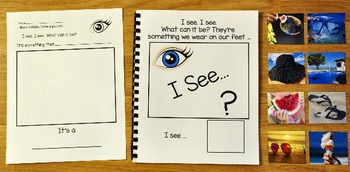 "Summer Adapted Book: ""I See"" In the Summer"