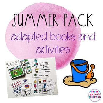 Summer Adapted Books Mini-Bundle
