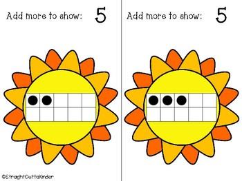 Summer Adding Ten-Frames