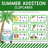 Summer Addition Clipcards