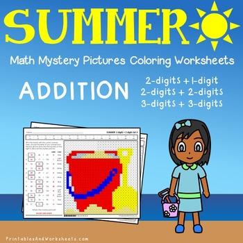 Summer Addition Worksheets Teaching Resources | Teachers Pay Teachers