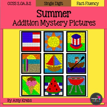 Summer Addition Mystery Pictures