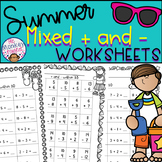 Summer Addition and Subtraction