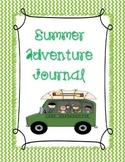Summer Adventure Journal
