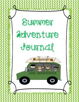Summer Adventure Journal